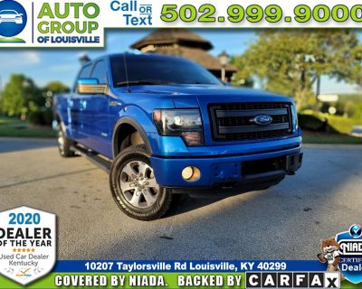 """2013 Ford F-150 SuperCrew 145"""" FX4 4WD"""
