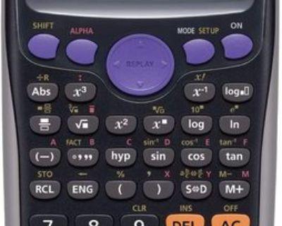 Wanted : Scientific Calculator