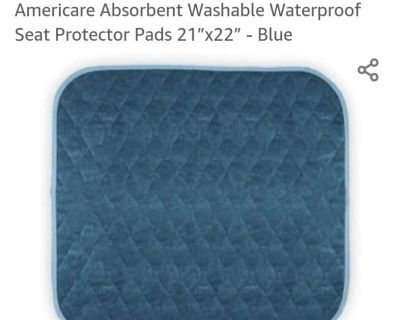 Seat Protector for elderly or disabled.