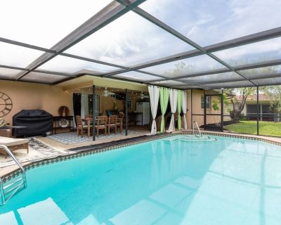 Comfy Cape Coral Pool Home! - Caloosahatchee