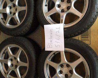 Stock EVO 8 Enkei Wheels/Bridgestone Blizzard WS60 Tires - Northern Virginia