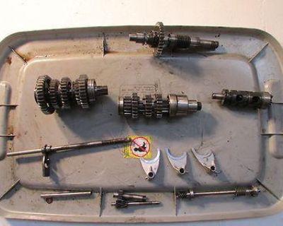 1974 Suzuki Gt750 Gt 750 Transmission Trans Gears Engine Motor