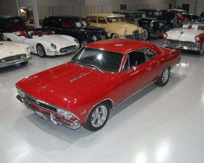 1966 Chevrolet Chevelle All-Steel Coupe Restored