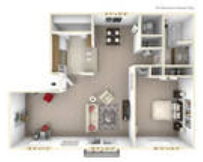 Autumn Woods Apartments - The Willow 1 BR 1 BA with Den