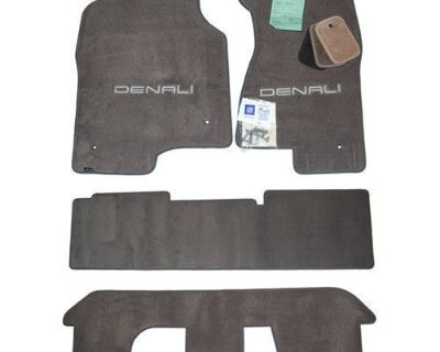 2001-2006 Gmc Yukon Denali & Xl Floor Mats Bench Seating Quality 32oz 2ply