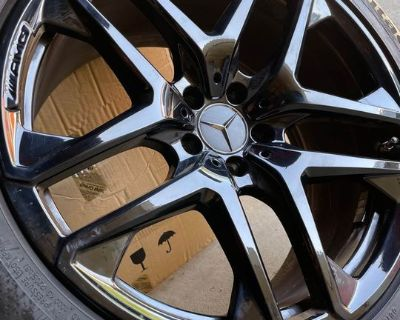 """20"""" Original Mercedes Benz GLC63 Wheels, Tires, TPMS set"""