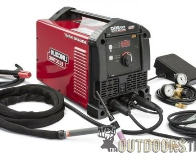 FS New Lincoln TIG 200 Square Wave Welder with lots of extras.