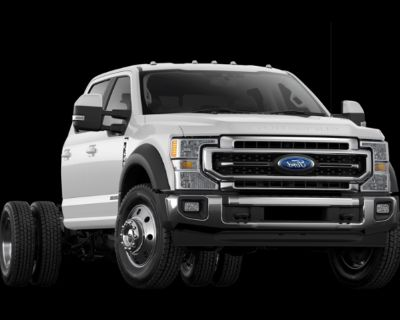 New 2021 Ford F-550SD XL 4WD