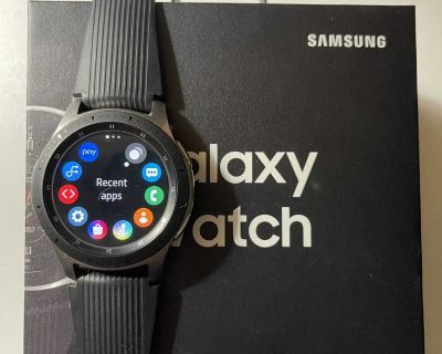 Samsung Galaxy watch 46mm LTE and Bluetooth