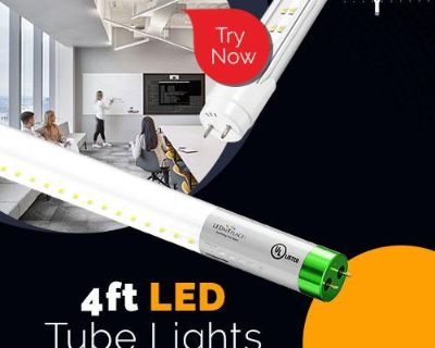 Buy Now 4ft LED Tube Light Fixture at Low Price