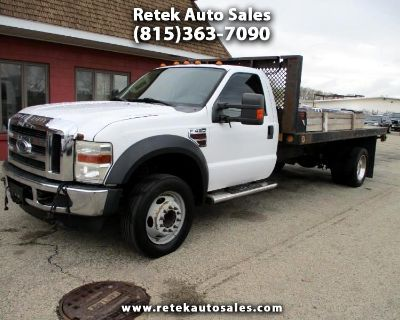 Used 2008 Ford F-450 SD Regular Cab 2WD DRW