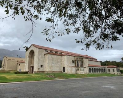 TV - Movie Ranch with Morgue, C.S.I. Lab, Cinematic Crematorium, Cemetery, Mausoleums, and Churches, Altadena, CA