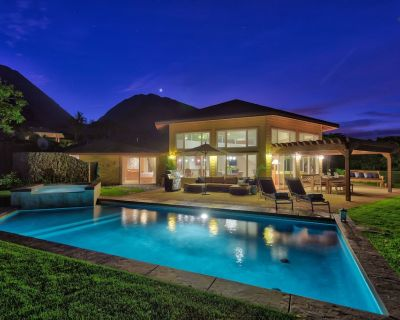 Luxury Home, Sweeping Ocean & Island Views, Very Private in Exclusive Launiupoko - Historic Lahaina Front Street