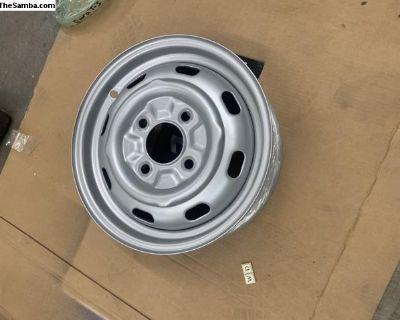 Type 3 wheel rim powder coated