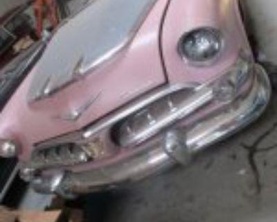 1956 dodge stick shift convertible D500 and hardtop parts car