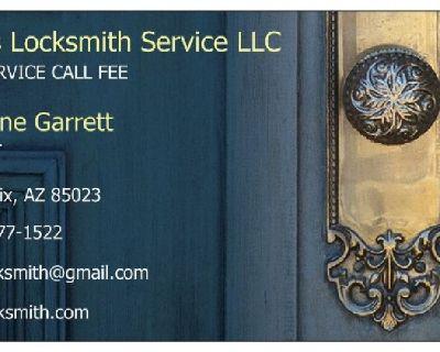 Real locksmith company. 24/7 valley wide