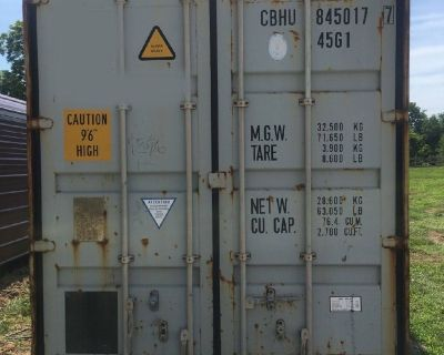 Need Space?  Used Shipping and Storage Containers