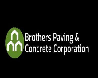 Concrete Construction Services with Brothers Paving & Concrete