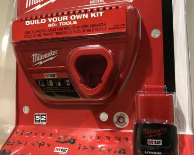 NEW Milwaukee M12 Battery and Charger