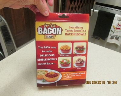 The Perfect Bacon Bowl - (As Advertised On TV) - REDUCED!