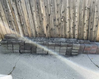 Pavers and garden wall stones
