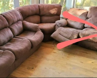 Queen size pull out sectional sofa