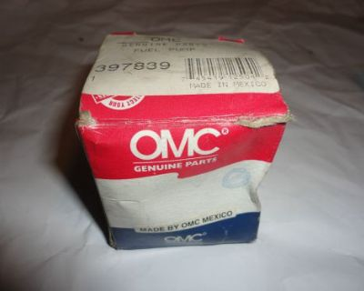 New Omc 397839 Fuel Pump 6,8,9.9 And 15 Hp Motors 92' Down @@@check This Out@@@