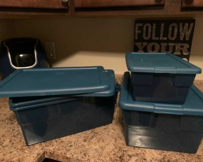 4 piece storage containers