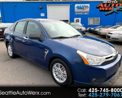 2008 Ford Focus 4dr Sdn SES