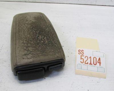 95 96 Volvo 850 Center Console Arm Rest Armrest Cup Holder Oem Damaged