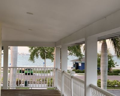 Beach and Bay view from 800 sf private balcony - Gulfport