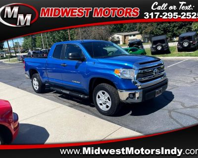 Used 2016 Toyota Tundra 4WD Truck Double Cab 4.6L V8 6-Spd AT SR5 (Natl)