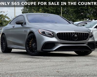 Pre-Owned 2018 Mercedes-Benz S-Class AMG S 65