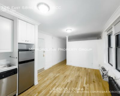 Why Can't I Find A Cheap No fee Studio For Under 1700? Well, it is right here! Great studio in Midtown East, with great light, Dishwasher, and lots of closets!