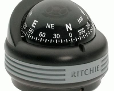 E.s. Ritchie #tr-33-clm - Black Trfi Surface Mount Compass - 2.25in Dial