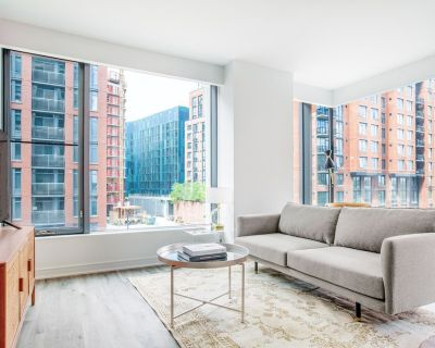 Premium Navy Yard 2BR w/ Gym, Pool, W/D, steps from Metro, by Blueground - Capitol Riverfront