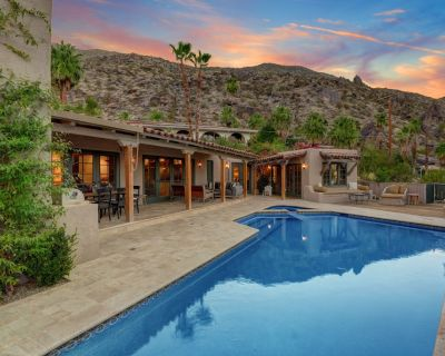 K0004 - Fabulous Spanish style home perched high over a serene canyon, with pano - The Mesa