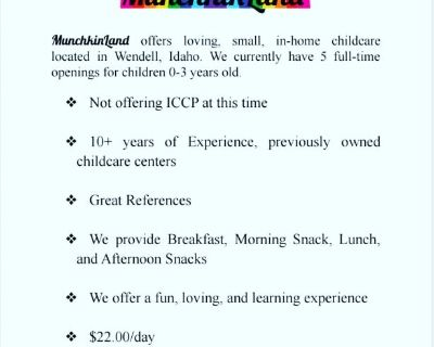 MunchkinLand In-Home Childcare