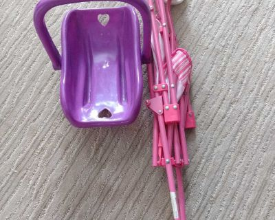 Baby doll stroller and carrier