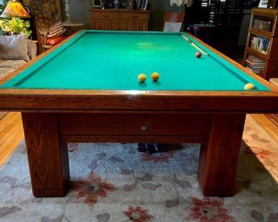 Antique Billiard Table