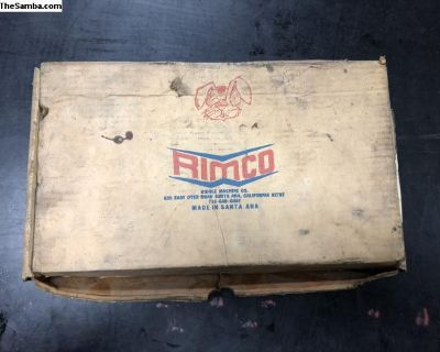 Vintage rimco race rod box