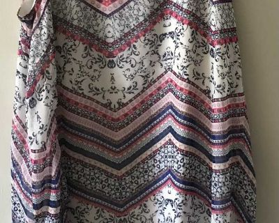 Double layered, whimsical XL dress
