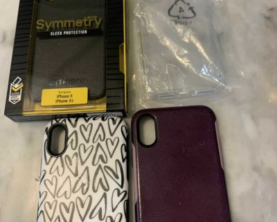 Lot of iPhone X/XS cases