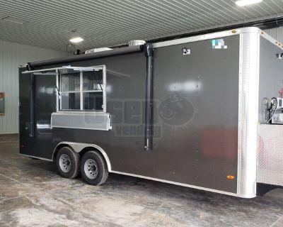 Full Turnkey 2020 Freedom 8.5' x 20' Kitchen Food Trailer