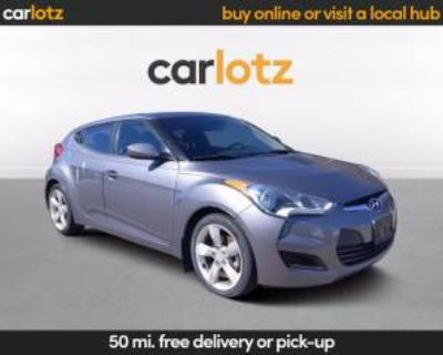 2014 Hyundai Veloster Base with Black Interior Automatic