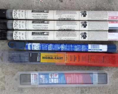 Set of Welding Rods never used.