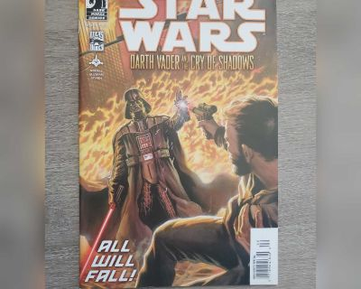 Star Wars Darth Vader and the Cry of Shadows Issue 5