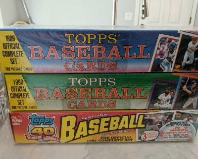 Topps Baseball Cards Complete Sets