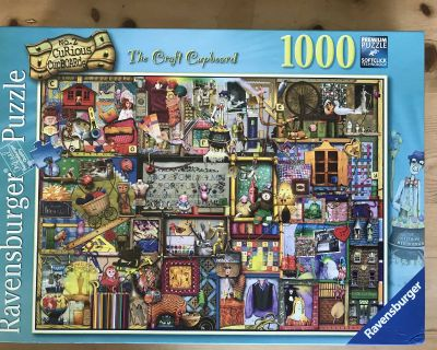 THE CRAFT CUPBOARD PUZZLE - Royal Oak