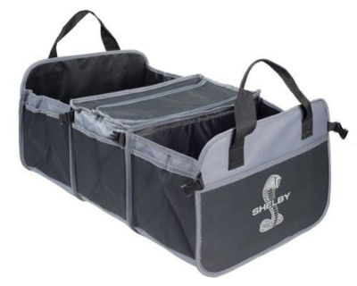 Shelby Super Snake Cobra Logo Trunk Organizer With Cooler Ford Mustang Gt500